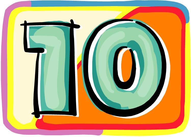 top ten RR