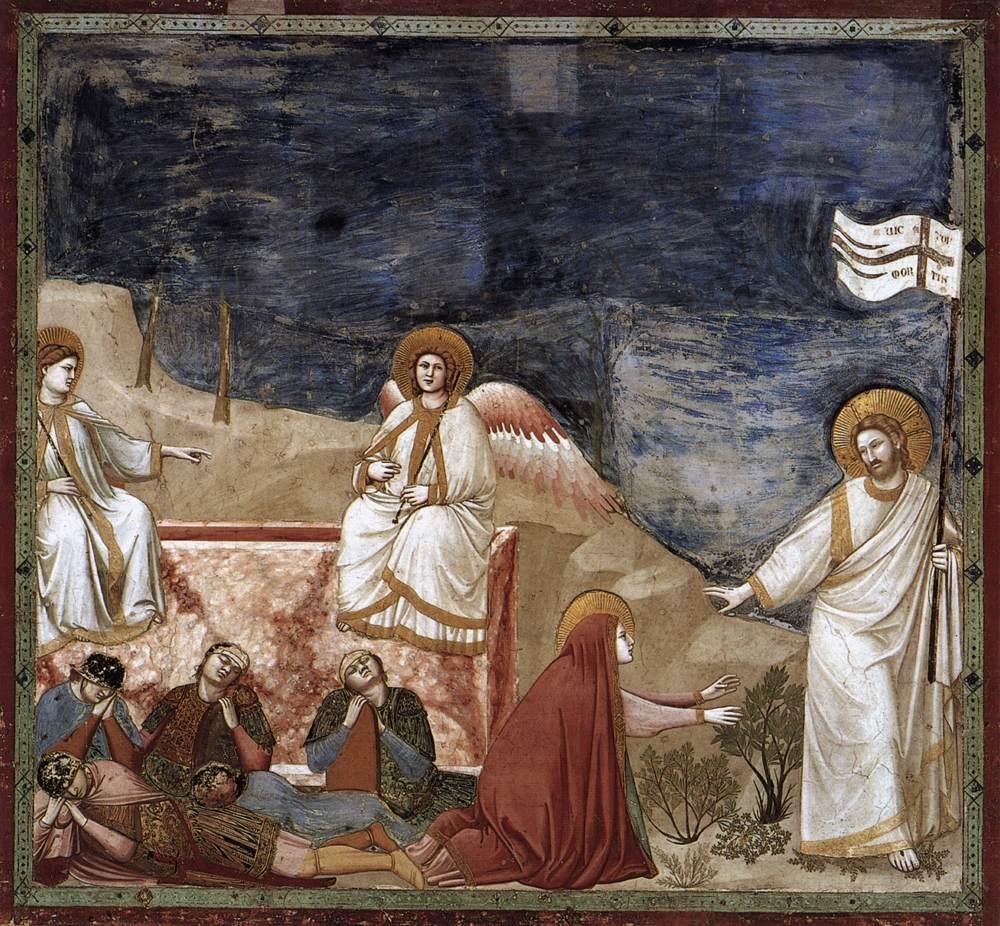 Giotto empty tomb
